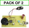 (2-PACK) KitsUSA K6841 SCI-FI SOUND THEREMIN KIT with Sound Freq and Mod Sensors