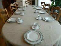 Christopher Stuart Fine China Wellesley Dinnerware Set for (10)              4-3