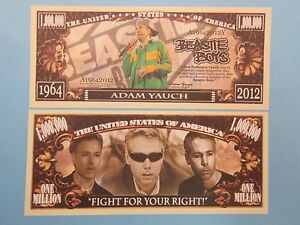 Party Memory of ADAM YAUCH of the BEASTIE BOYS ~ $1,000,000 One Million Dollars