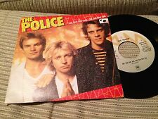 "POLICE SPANISH 7"" SINGLE SPAIN STING - DE DO DO DO"