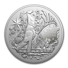1 Oz  Australia Coat of Arms 2021 Fine Silver 999 Oncia Argento Stemma