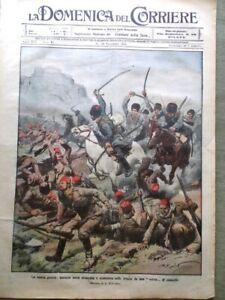 2 Riviste Domenica del Corriere 46 del 1914 WW1 - Tribuna Illustrata 40 del 1897