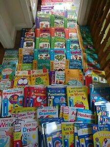 Educational Book Home School Maths English Catch Up Phonics Age 3-11yrs Homework