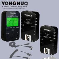 Yongnuo  YN622N-TX +2PCS YN-622N TTL flash trigger with 2 cables for Nikon