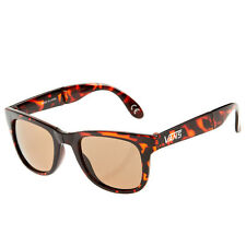 "Vans ""Foldable Spicoli"" Shades (Translucent Honey) Unisex Tortoise Sunglasses"