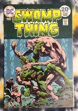 SWAMP THING #10  (1973) - DC Comics /  Last B. Wrightson issue
