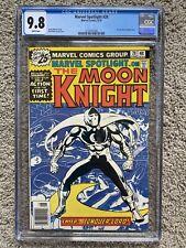 MARVEL SPOTLIGHT #28 CGC 9.8 WP 1ST SOLO MOON KNIGHT STORY MARVEL COMICS 1976