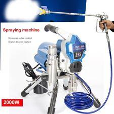 220V High Pressure Airless Wall Paint Spray Gun Sprayer Machine spraying machine