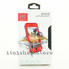 LifeProof FRE Waterproof Hard Shell Case For iPhone 7 & iPhone 8 Ember Red Teal