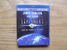 Explorers: From the Titanic to the Moon (Blu-ray Disc, 2009) New