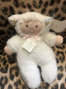 Gund Baby Easter Little Lamb Sheep Doll Gigglers Plush Toy New 17 Cm Tall
