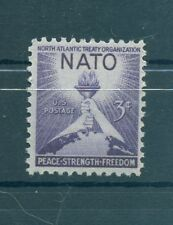 EMBLEMI - EMBLEM U.S.A. 1952  OTAN/NATO 3rd Anniversary