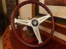BMW E9 2800 CS Wood Steering Wheel NARDI Original BMW German approved D.O.T.