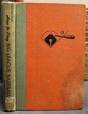 How to Play Big League Baseball 1951 1st ED HB Child Campanella Dimaggio Rizzuto
