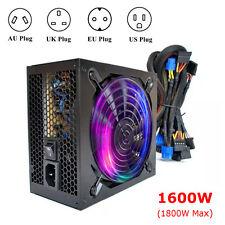 DHL 1600W ATX Mining Power Supply SATA 6 GPU for Bitcoin ETH BTC Ethereum Miner
