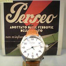 OROLOGIO PERSEO RAILKING ACCIAIO AUTOMATICO SUB 200 MT VETRO ZAFFIRO 5053