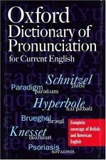 The Oxford Dictionary of Pronunciation for Current English-ExLibrary