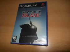 de Shogun BLADE PLAYSTATION 2 UK PAL Inglés PS2 NUEVO PRECINTADO