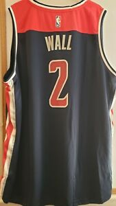 John Wall WASHINGTON WIZARDS AUTHENTIC FANATICS NBA JERSEY ADULT 2XL