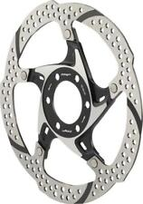 TRP 33-203mm Heat Dispersion 6-Bolt Disc Brake Rotor: 2 Piece Silver and Black