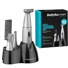 Brand New BaByliss for Men 7040CU 6-in-1 Grooming Kit