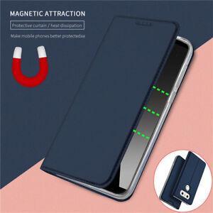 For LG G7 G8S ThinQ V30 V50 V60 Magnetic Leather Wallet Case Cover