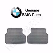 NEW BMW E53 X5 2000-2006 Set of Rear Rubber Floor Mats Gray GENUINE 51470151486