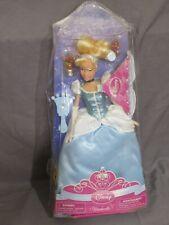 """Neu Vintage Disney Store Exclusive Prinzessin Cinderella Barbie Puppe 12"""" mit"""