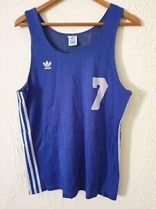Vintage basketball jersey shirt ADIDAS made in  Yugoslavia