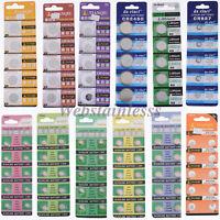 5/10/100PCS 1.5V Knopfzelle Batterie Elektronische Knopfzellen Knopfbatterie AA