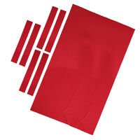 Heavy Duty Billiard Pool Cue Ball Table Cloth Felt For 6ft Table Cloth Red