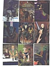 1996 TOPPS FINEST STAR WARS 9 CARD LOT OBI-WAN KENOBI