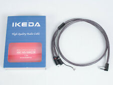 Ikeda Labs Japan HBC-MS-5000LDR Hybrid Double Twin Core Tonearm Phono Cable 1.2m