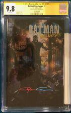 Clayton Crain signed BATMAN WHO LAUGHS #1 CGC 9.8 SS FOIL VARIANT COMIC