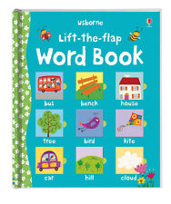 Usborne Lift the Flap Word Book (bb) fun matching word and picture NEW