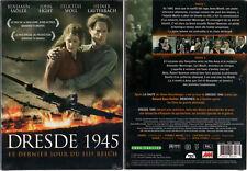DVD - DRESDE 1945 - Sadler,Light,Woll,Lauterbach,Richter - NEUF