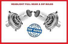 Headlight PUNTO 2006- Halogen bulbs Fiat GRANDE Dip/low Main/Hi Beam 12v H4 60/5
