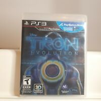 Tron: Evolution  ( PS3 Playstation 3 Sony ) TESTED.
