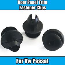 30x Clips For VW Passat Trim Panel Fixings Fastener Clips Black Plastic
