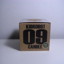 Kidrobot Mascot Head Candle 09 Green Tea Scent NEW RARE 2009