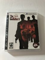 The Godfather 2 Sony Playstation 3 PS3 COMPLETE (EA, 2009) TESTED