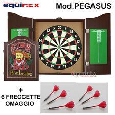 Garlando - EQUINOX Bersaglio Freccette PEGASUS + 6 FRECCETTE OMAGGIO