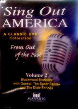 Sing Out America Volume 2 Blackwood Brothers, Speer Family, Dixie Echoes (DVD)