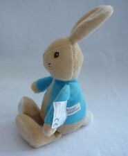 BEATRIX POTTER PETER RABBIT PLUSH SOFT COMFORTER RATTLE TOY