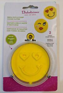 Emoji Flip and Stamp Cookie Cutter