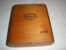 Flor de Tabacos Partagas Royale Limited Reserve Cigar Box