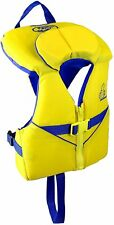 New listing Stohlquist Kids Life Jacket Coast Guard Approved 30 - 50 lbs, Yellow/Blue
