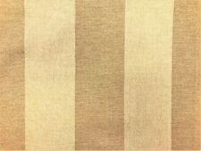Beige Stripe Canvas Herringbone Nautical Upholstery Drapery Fabric