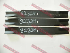 Bush Hog Finish Mower Blades, Set of 3, 82324
