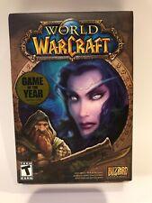 World of WarCraft Video Game Windows Mac PC  NIB Blizzard Entertainment
